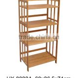 2016 New design bamboo storage shelf /customized high end bamboo corner shelf /modern bamboo shelf