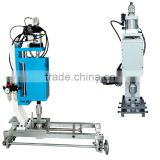 ultrasonic cutting and welding bag machine