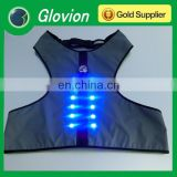 Popular LED pet cloth Reflective dog cloth performance pet cloth