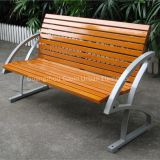 Solid wood urban furniture wooden park bench
