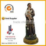 12 Inch St. Anthony Resin Sculpture Religious Statues