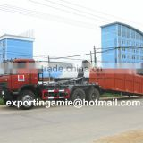 China Euro3 DONGFENG 210HP 16cbm hook arm type garbage truck