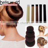 Wholesale Multicolor Different Size Wig Hairdisk Hair Donut Bun for Long Hair
