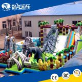 Attractive inflatable bouncer combo, inflatable jumping house, inflatable bouncer slide