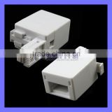 ELECTROVISION <b>UK</b>/US <b>Adaptor</b> RJ11 <b>Plug</b> to BT