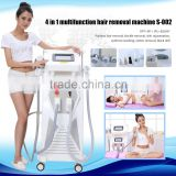 Ipl Machine / Ipl Laser Hair Removal Machine/ Hair Removal Ipl Opt Shr E-light Laser Ipl Rf Machine 10MHz