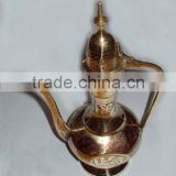 Arabic aftaba coffee pot, antique arab tea set, Aftaba pot