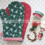 New style Christmas tree cooking gloves