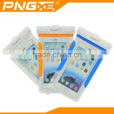 PNGXE fast selling pvc waterproof mobile bag with armband colorful waterproof case for sam galaxy grand prime