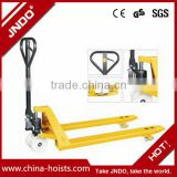 2000kgs hand pallet jack truck trolley forklift for racking
