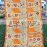 Soft Cotton Kantha Garden Beach Rugs Throw