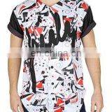 High quality sublimated elongated t shirts - wholesale high quality elong...