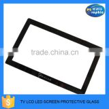 custom logo <b>tv</b> flat clear tempered glass for <b>screen</b> <b>protector</b>s