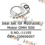 PUTZMEISTER seal set for hydraulic motor OMH 500 OEM 239696007 concrete pump spare parts