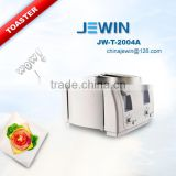 4 Slice stainless steel panel bread toaster