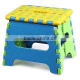 E-Z Fold sturdy folding step stool step chair for children 19 height