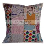Ethnic Sari Patchwork Handmade Pillow Covers