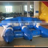 2015 fashion towable water tubes , inflatable flying manta ray , inflation water games crazy water games