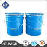 20l paint bucket with lock ring lid and metal handle,un approved chemical steel drums 5 gallon,paint pail manufacturers