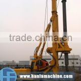 HF525 small rotary drilling rig for sale used in piling foundation piling rig