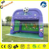 inflatable football cage,inflatable football throwing games,2014 new inflatable football shoot game