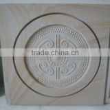 White Stone Carving Tile FSMP-059