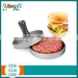 2016 Kitchen Tool Meat Aluminum Mini Hamburger Patty Mold Maker Burger Press