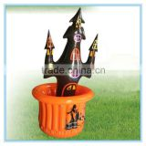 Inflatable ice cooler, pvc inflatable ghost cooler tub, palm tree buffet cooler
