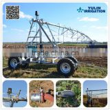China Agricultural Lateral Move Irrigation System With End Gun Sprinker For Large Farmland Designing For Free