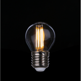 Triac Dimmable LED Filament Bulb G45 4W Clear IC drive 2200-6000K