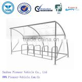 2014 Bike Shelter with bike stands(ISO,TUV,SGS approved)
