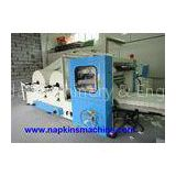 Auto Box Drawing Facial Tissue Paper Napkin Making Machine , Interfold Folding Type
