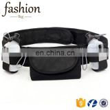 Elastic Waterproof Jogging Cycling Sport Belt Smartphone Pouch & Reflective Safety Tape Running Waist Pack