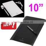 "10"" Art Graphics Drawing Writting Touch Tablet Pad Board Cordless Digital Pen for PC Laptop Computer Peripherals"