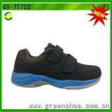European style pu men black shoes