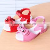 B21376A Girl summer sandals cute bowknot slip sandals