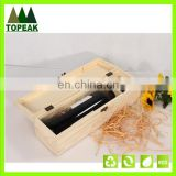 high quality wooden box 1/2/4/6 bottles wine packing wood box