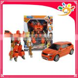 super toy plastic transform car transform robot toy