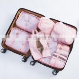 7 Set Packing Cubes with Shoe Bag Compression Travel Luggage Organizer
