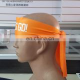promotional custom polyester bandana size 7x100 with logo on
