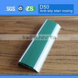 Safety Curved Aluminum Tile Edging Stair Nosings