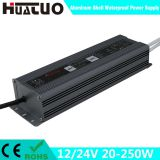 12/24V 20-250W constant voltage aluminum shell waterproof LED power supply