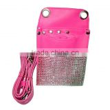 Diamond Barber/Scissors holster scissor pouch in pink colour