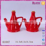 hot sale wedding small ceramic soy sauce bottle
