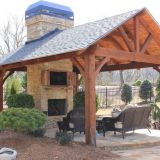 Waterproof Garden Outdoor bar Gazebo