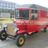 Special design 4 wheel electric food delivery vehicle new model T ice cream car