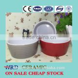 Stocked Nice colorful porcelain round ceramic soup bowl