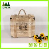 Eco-friendly Wooden Wine Box Wholesale Gift Box Packing Wood Box