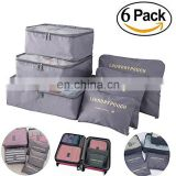 6 Set Travel Storage Bags Multi-functional Clothing Sorting Packages