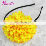 Beautiful Colorful Sunflower Hairband